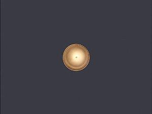 Balizador de Embutir LED 0,5W 5V Redondo Round
