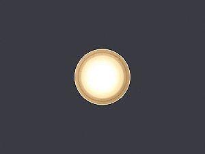Balizador de Embutir LED 0,5W 5V Redondo Round Big