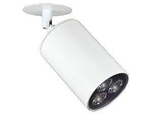 Spot de Sobrepor C/ Canopla LED 3W Bivolt Clean Modular