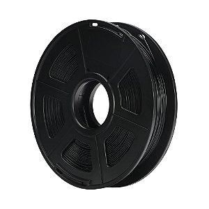 Filamento Plástico PETG 1.75mm Preto 0.5KG 3D0083