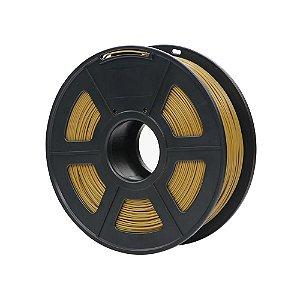 Filamento Plástico Novo PLA 1.75mm Marrom 1KG - 3D0075