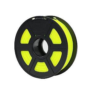 Filamento Plástico Novo PLA 1.75mm Amarelo 1KG - 3D0068