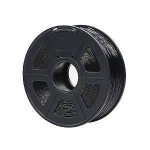 Filamento Plástico Novo PLA 1.75mm Preto 1KG - 3D0067