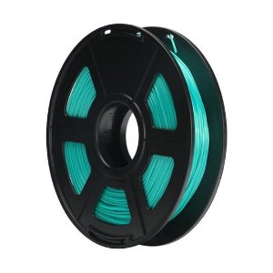Filamento Plástico TPU 1.75mm Verde 0.5KG - 3D0064