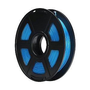 Filamento Plástico TPU 1.75mm Azul 0.5KG - 3D0063