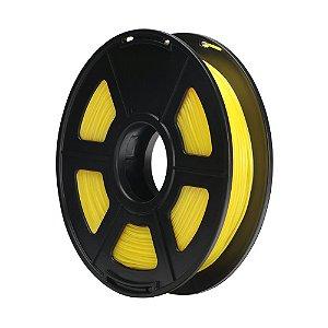 Filamento Plástico TPU 1.75mm Amarelo 0.5KG - 3D0062