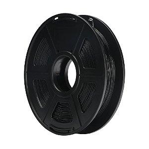 Filamento Plástico TPU 1.75mm Preto 0.5KG - 3D0059
