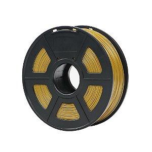 Filamento Plástico ABS 1.75mm Dourado 1KG - 3D0052
