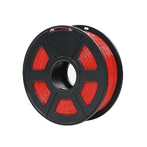Filamento Plástico ABS 1.75mm Vermelho 1KG - 3D0048