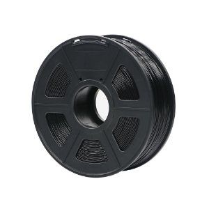 Filamento Plástico ABS 1.75mm Preto 1KG - 3D0046