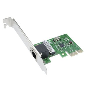 Placa de rede Ethernet Gigabit 1xRJ45 10/100/1000Mbps PCI Express 1x K2774