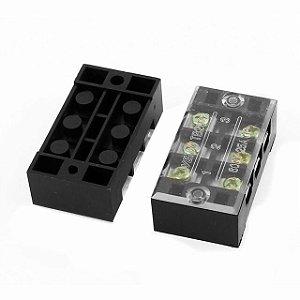 Conector Bloco Terminais 3 Vias TB2503 600V/25A Para Painel LED K2828