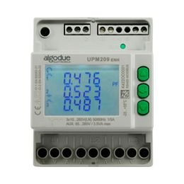 Medidor trifásico multifuncional UPM209 85-265 AVC 6A