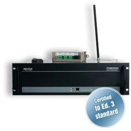 """Analisador de qualidade de energia Classe A rack 19"""" para CTs PQM3000"""