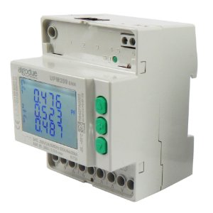 Medidor trifásico multifuncional UPM209 6A 85-265VAC ETHERNET