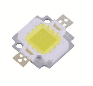 LED 10W 3*3 BRANCO FRIO 6000-6500K Bridgelux 35mils K1497