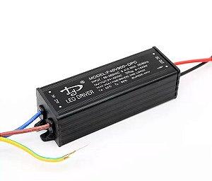 Fonte Driver Para 8 A 12 LEDs De 3W Bivolt IP65 K2832
