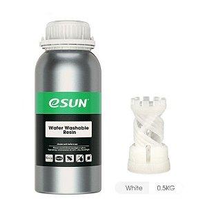 Resina para Impressora 3D Lavável em água 500g Branca E0036