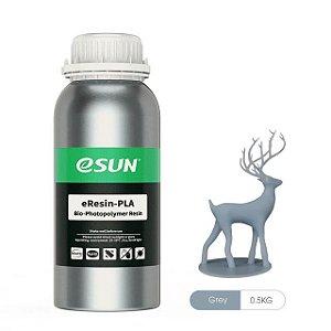 Resina para Impressora 3D PLA Bio based Eco 500g Cinza E0032