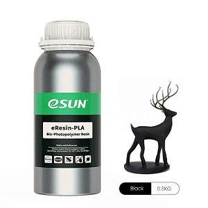 Resina para Impressora 3D PLA Bio based Eco 500g Preta E0031