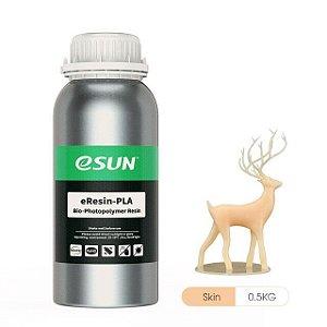 Resina para Impressora 3D PLA Bio based Eco 500g Skin E0030