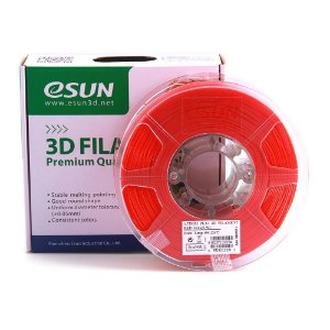 Filamento PLA+ 1.75mm 1kg Premium Vermelho E0004