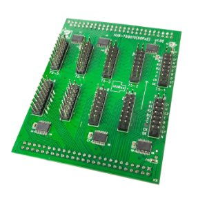 Placa interface HUB-75Q010(50Px2) para controladora TF-QBx K2830