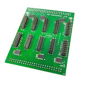 Placa interface HUB-75Q010(50Px2) para controladora TF-QBx K2830