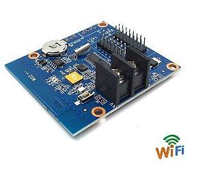 Controladora para Painel LED HD-W02 2*HUB12 Wifi  Onboard K2918