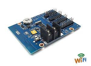 Controladora para Painel LED HD-W04  4*HUB12 Com Wifi  Onboard K2919