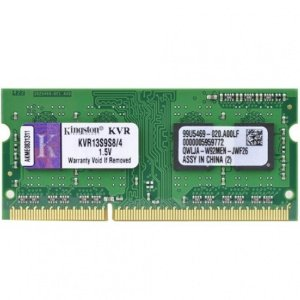 Memória DDR3 4GB/1333 NOTE - Kingston