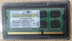 Memória DDR3 8GB/1600 NOTE Low Voltage - Markvision