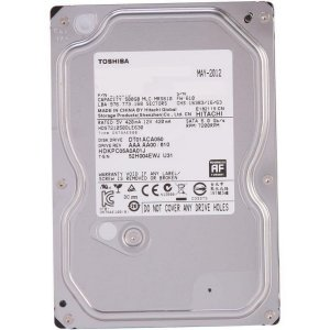 HD Toshiba 500GB 7200 RPM 3.5""