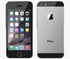 IPHONE 5S 16BG Gray(cinza) (ME432)