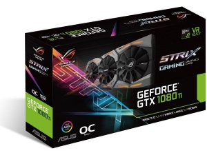 VGA Asus Geforce GTX 1080 TI DDR5X 11GB ROG STRIX GAMING