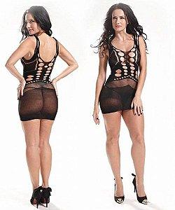 Bodystocking - Vestido Rendado
