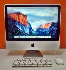 iMac MB323LL/A 20'' Intel Core 2 DUO 2.40GHz 4GB HD-250GB | DEDICADA - 128MB