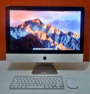 iMac MC309LL/A 21.5'' Intel Core i5 2.50GHz 8GB HD-500GB | DEDICADA - 512MB