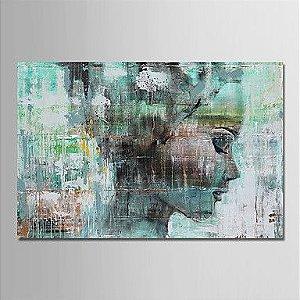 Pintura Em Tela Abstrato Moderno Figura Humana