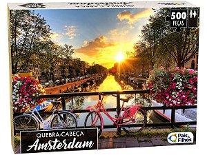 Quebra-cabeça 500 Peças Amsterdam