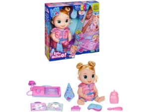 Boneca Baby Alive Lulu Achoo Loira com Acessórios