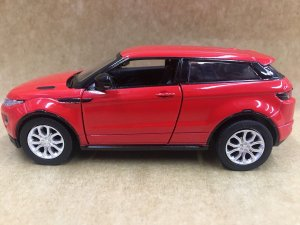 Miniatura em Metal Range Rover EVOQUE