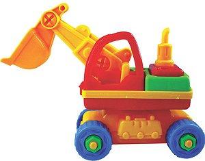 Monta Maquinas Escavadeira com Ferramentas