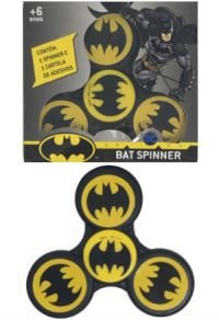 KIT com 3 Hand Spinner Batman