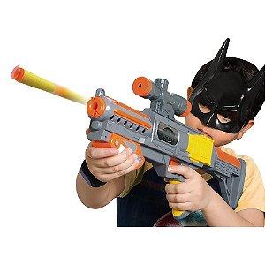Mega Lança Dardos Batman com Máscara - 12 peças