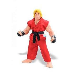 Boneco Street Fighter Ken