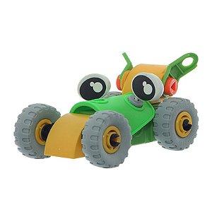 Auto Construtores CARRO (Verde e Amarelo) - Dican
