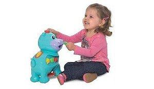 Brinquedo Didático Amiguinho Comilão Hipopótamo