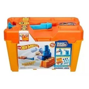 Pista Hot Wheels e Acessorio TRACK Builder KIT Completo