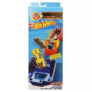 Hot Wheels Pista de Acrobacia Giro Feroz - Mattel